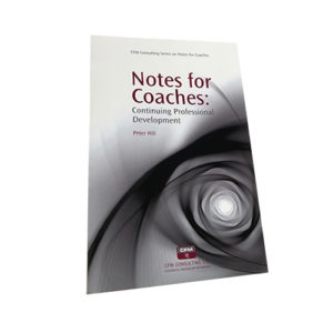 notes for coaches continuing development